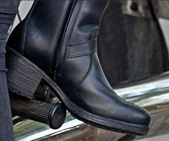 Altura talón botas custom