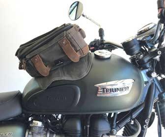 Bolsas Sobredepósito para Moto Custom