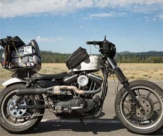 Bolsa para tanque de gasolina de motos custom