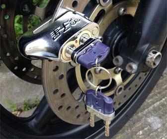 Candados Antirrobo para Motos Custom