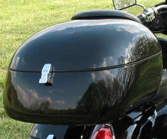 Capacidad del Baúl para motos custom