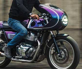 Carenado frontal para motos custom
