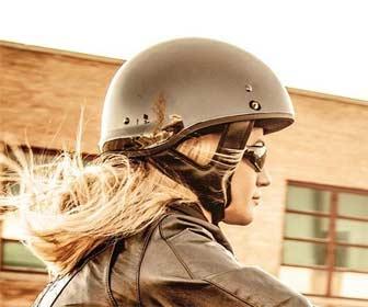 Cascos homologado moto Custom