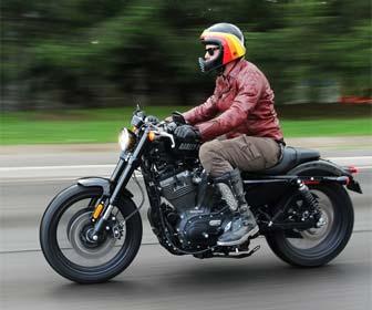 Chaquetas de cuero para motos Custom