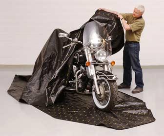 cubre motos custom