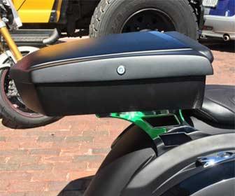Diseño del Baúl para motos custom