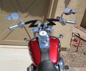 Manillar Manillar Z-Bar para moto custom