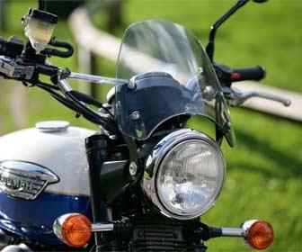 Pantallas para motocicletas custom
