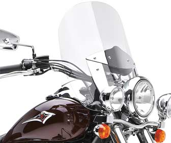 Parabrisas para motocicletas custom