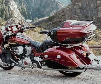 Resistencia al mal tiempo del Baúl para motos custom