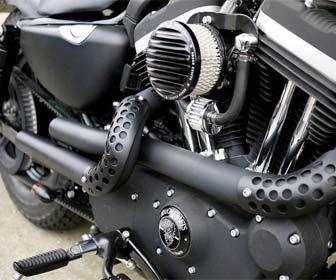 Tubo de Escape artesanal para Moto Custom